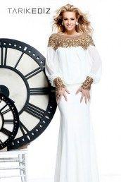 Длинные вечерние платья с рукавами TARIK EDIZ