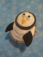 oreo penguin cupcakes: Penguins Parties, Feelings Tasting, Penguins Cupcakes, Parties Ideas, Cupcakes Cravings, Creative Cupcakes, Penguin Cupcakes, Cupcakes Rosa-Choqu, Oreo Penguins