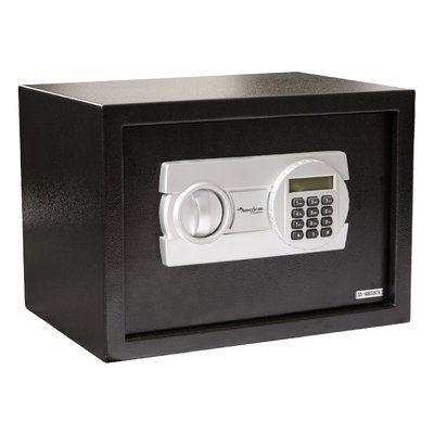 "American Furniture Classics Digital Home Safe Box with Electronic Lock Size: 7.9"" H x 12.2"" W x 7.9"" D"
