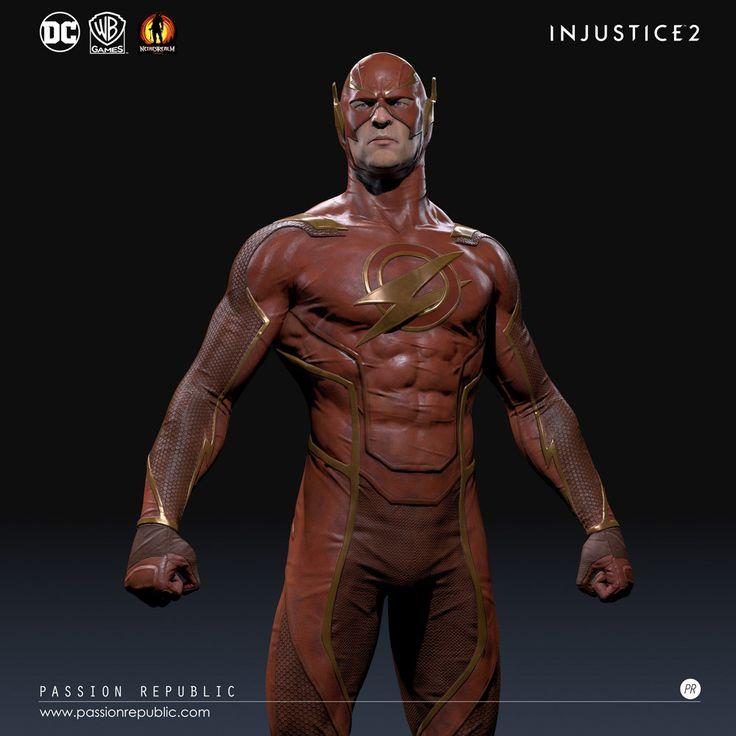 ArtStation - Injustice 2- Flash, Meng Guan