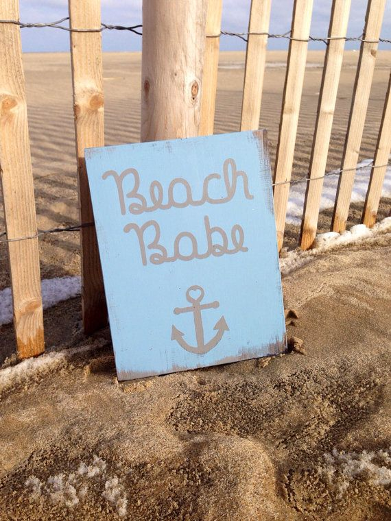 Beach Themed Nursery Decor! This would be a unique baby gift for a