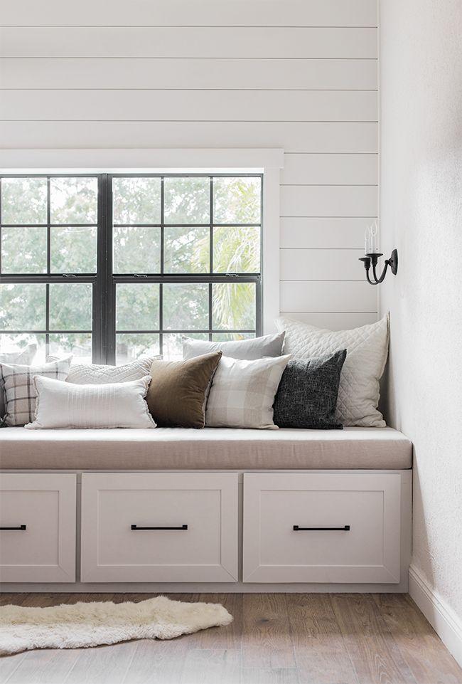 Diy Window Bench Seat Reading Nook Diy Window Seat Storage