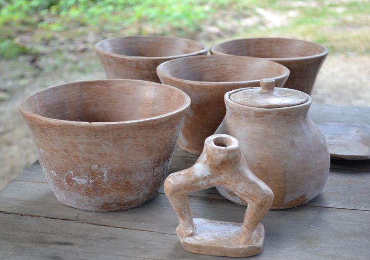 Artesanía Cubeo en barro. (Vaupés - Colombia)