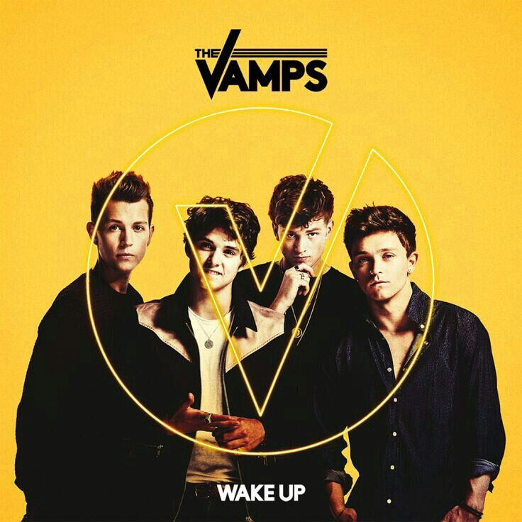 The vamps album cover wake up