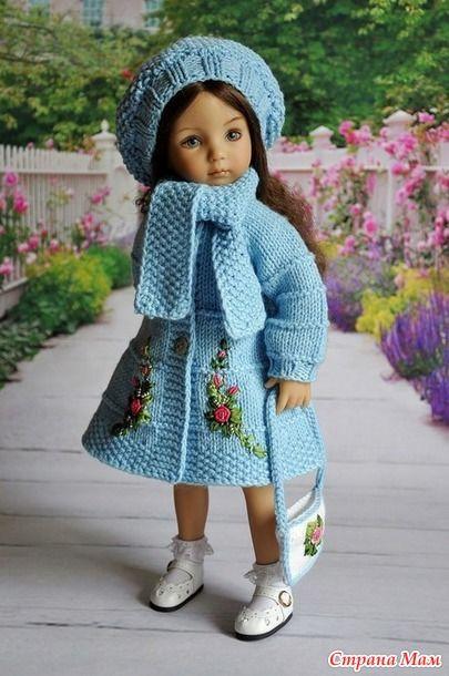 И осенью хочется нежных весенних красок! - Гардероб для куклы - Страна Мам