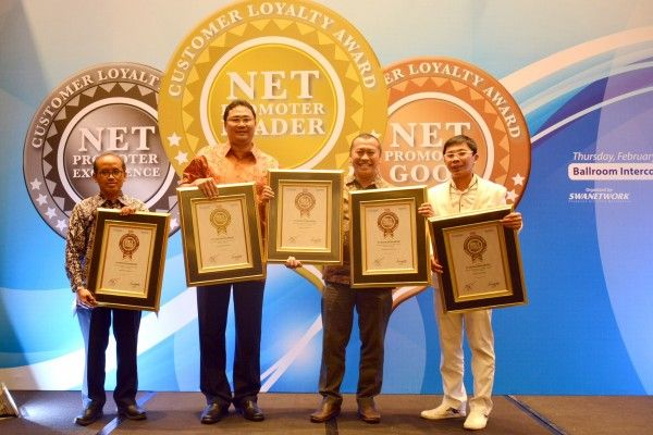 Toyota borong penghargaan Net Promoter Customer Loyalty