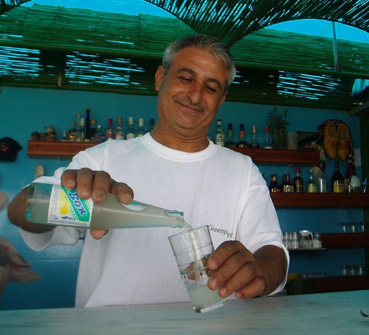 KARPATHOS   beach side cafe