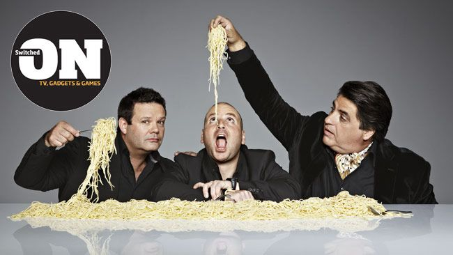 MasterChef judges Gary Mehigan, George Calombaris and Matt Preston / Pic: Peter Brew-Bevan Source: The Daily Telegraph