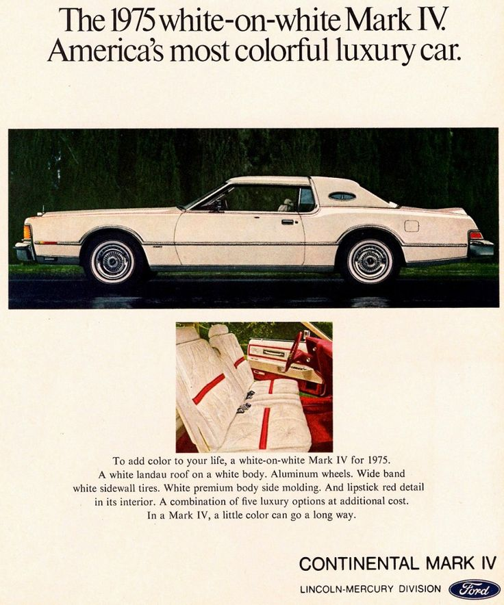 1975 Car Advertisements | 1975 lincoln continental coupe ad 1975 lincoln town car ad...Dad had one of these, too...