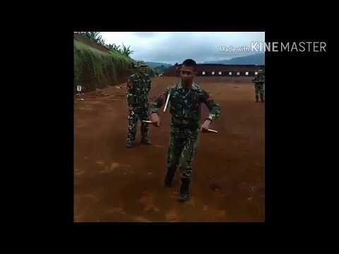 Keren Aksi TNI pakai double stick TNI IS AWESOME - YouTube