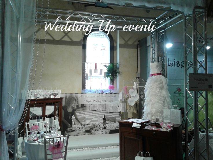 """Stand Wedding Up-eventi a """"Bologna si Sposa"""", Palazzo Re Enzo,Bologna 2014"""