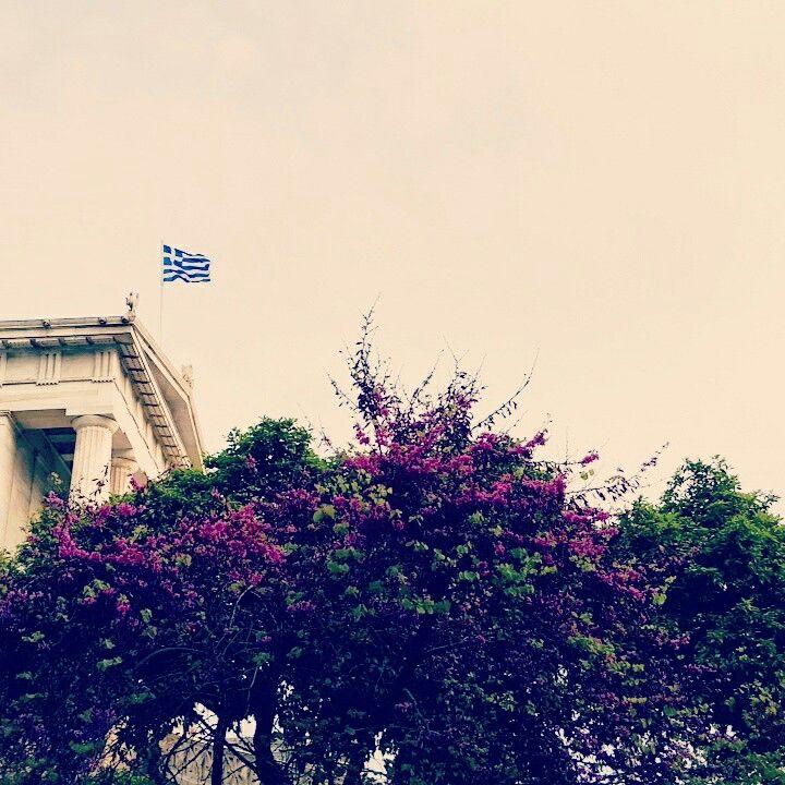 Spring break in Athens