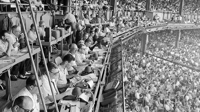 No Chattering in the Press Box, by Bryan Curtis -- A piece on the the lost tribe of sportswriters known as the Chipmunks