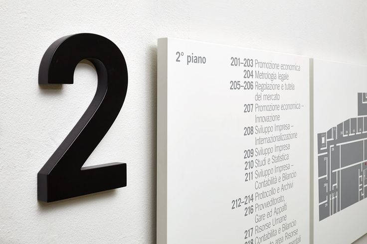 CCRZ - Camera di Commercio Como - Chamber of Commerce signage system #CCRZ #Signage