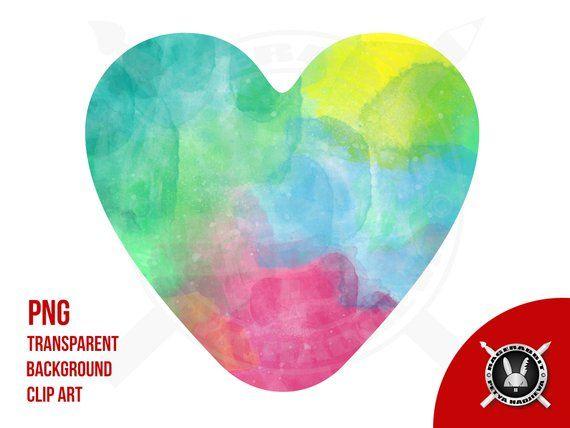 Heart Color Rainbow Love Cute Liquid Love Png Rainbow Color