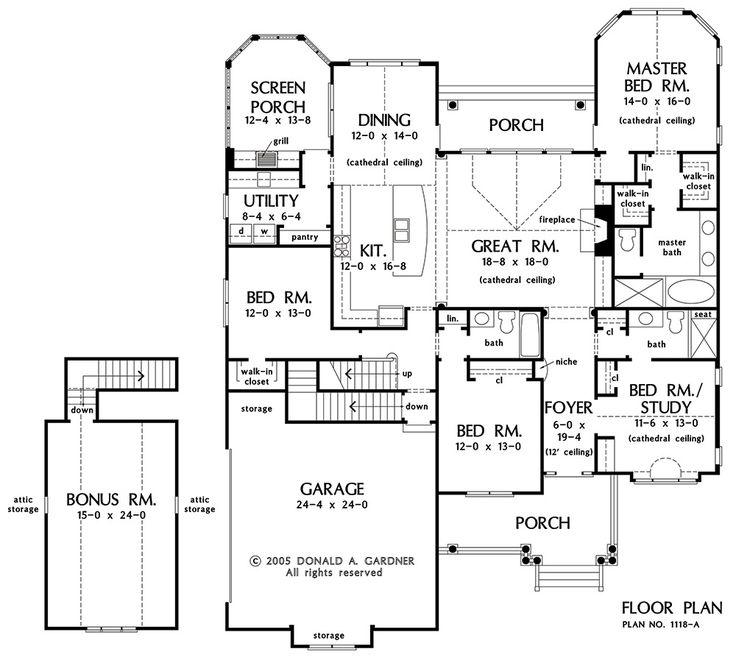 259 Best Images About Dream House Plans On Pinterest | Craftsman