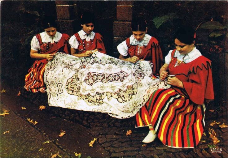 #Madeira #Embroidery & Folclore Clothes #portugal