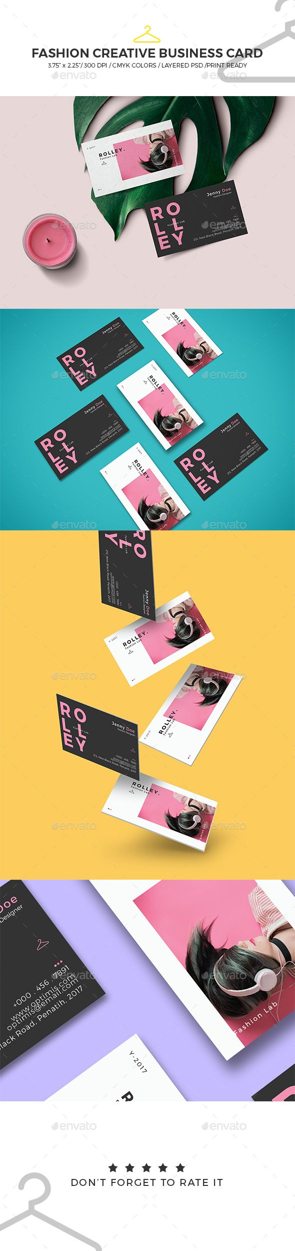 Fashion Creative Business Card