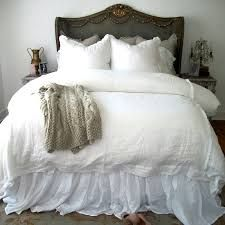 White Gauze Bedskirt Google Search Home Bed Skirts