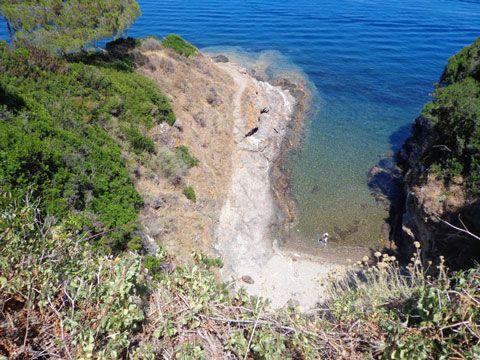 Hidden beach, Elba island, Italy