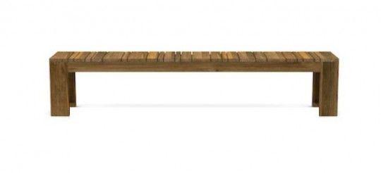 kona outdoor reclaimed teak bench , kona outdoor teak bench  atpoynters