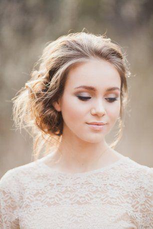 Весенний макияж невесты