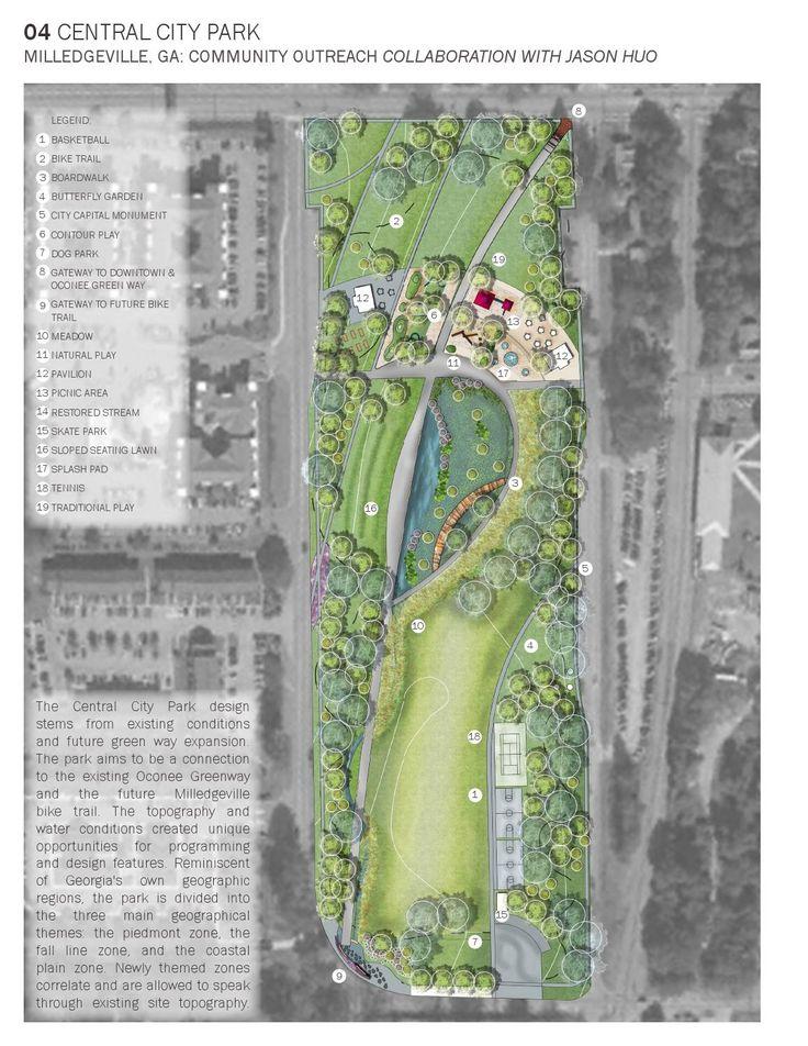 Landscape Architecture Portfolio : BLA 2016
