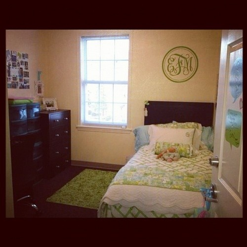 Marvelous Blue And Green Dorm Room. Find This Pin And More On High Point University  ... Part 3