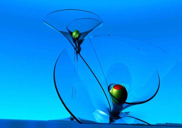 Bombay glass shell 2