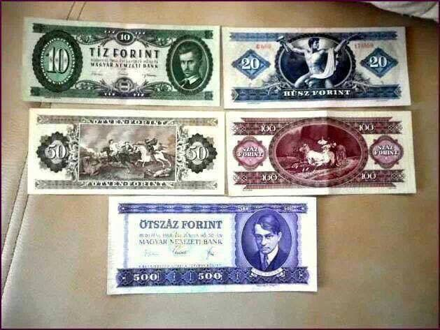 Gyönyörű pénzeink