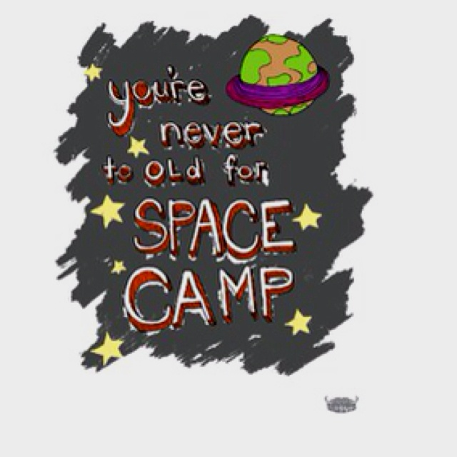 Yankee hipster quot you re never too old for space camp quot poster i still