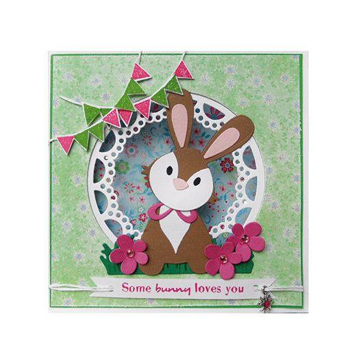 Marianne Design Collectables Cutting Dies - Bunny COL1354 - http://cuddlybuddly.com/shop/v22584-marianne-design-collectables-cutting-dies-bunny-col1354/