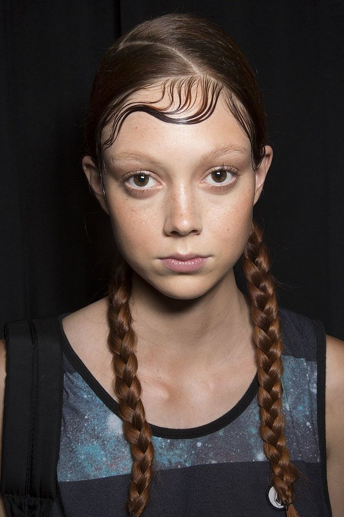 These pigtails were a throwback to '90s New York City. (scheduled via http://www.tailwindapp.com?utm_source=pinterest&utm_medium=twpin&utm_content=post23262492&utm_campaign=scheduler_attribution)