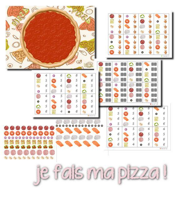 La maternelle de Laurène - je fais ma pizza!