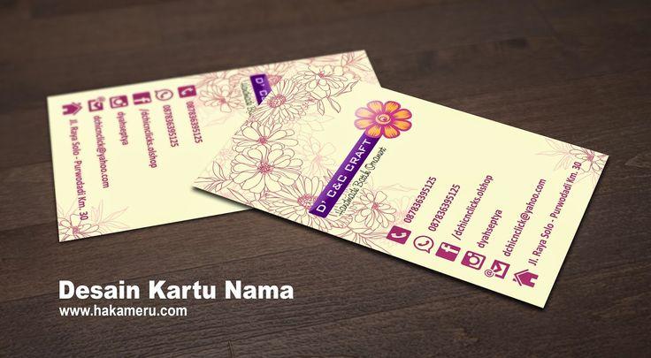 Desain dan cetak kartu nama - Hakameru.com