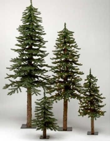 6 ft Alpine Skinny Country Christmas Tree - Christmas Trees and Toppers - Christmas and Winter - Holiday Crafts