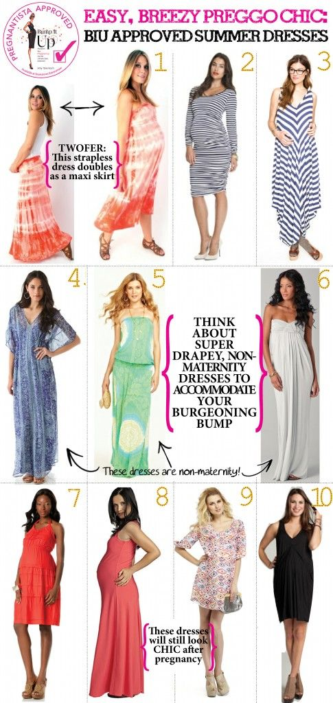 Summer dresses that make great for great pregnancy style!