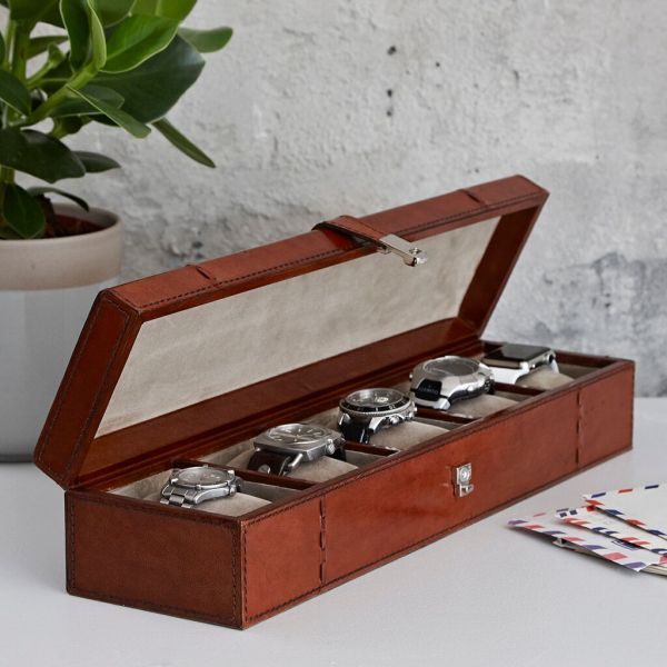 Personalised Watch Box For 5 Watches In 2019 Christmas Gifts For
