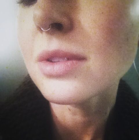New handcrafted rose gold septum ring