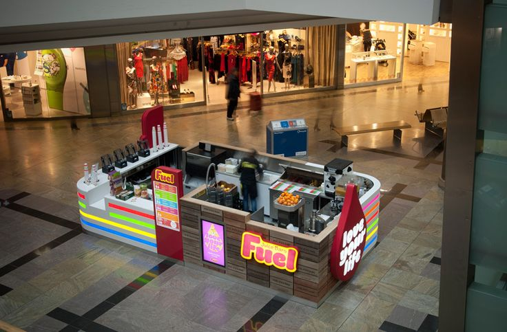 Fuel Juice Bars Kiosk - West Quay