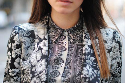 Street-stye inspo: Paisley + Florals