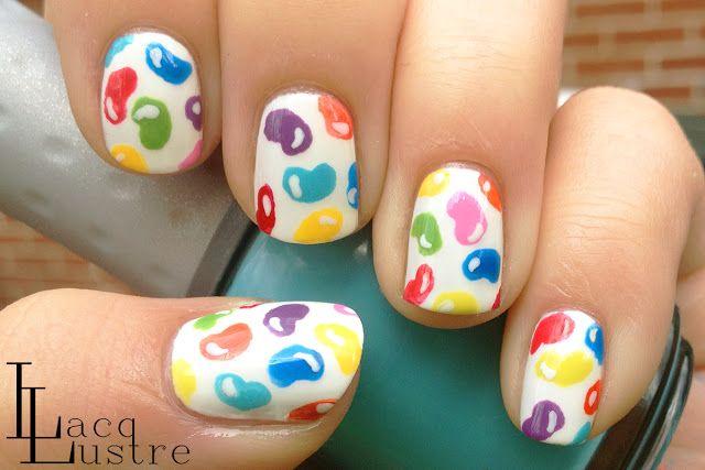LacqLustre: Jelly Bean  #nail #nails #nailart