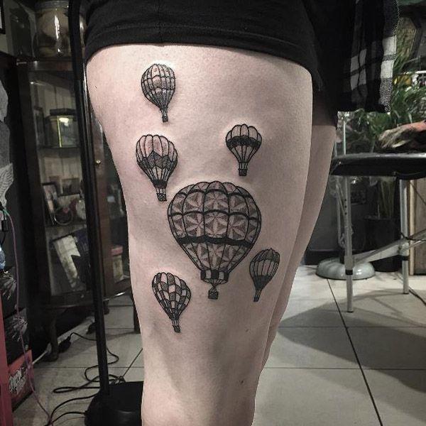 17 meilleures id es propos de tatouages sur la cuisse - Tatouage sur la cuisse ...