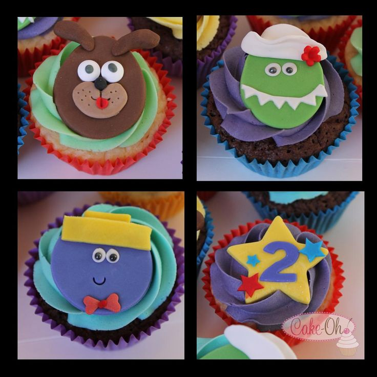 Wiggles Cupcakes - Lights! Camera! Action!
