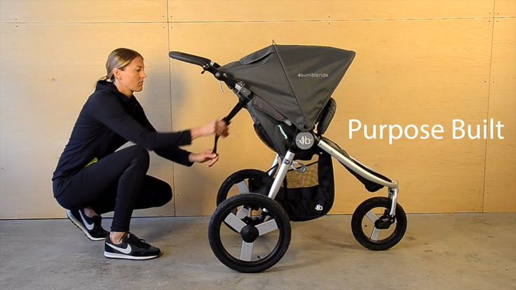 Bumbleride Speed Jogging Stroller Features