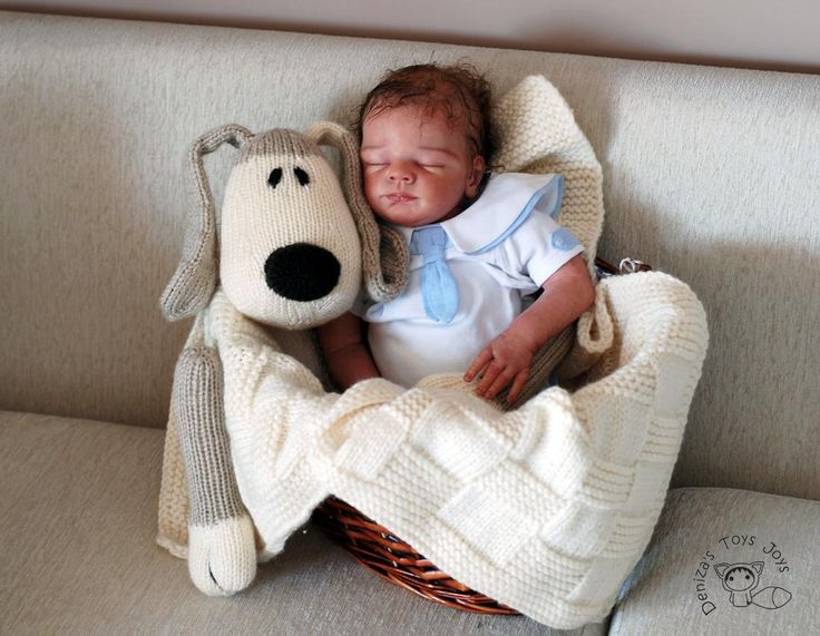 Looking for your next project? You're going to love Dog Toy Baby Blanket by designer deniza17.
