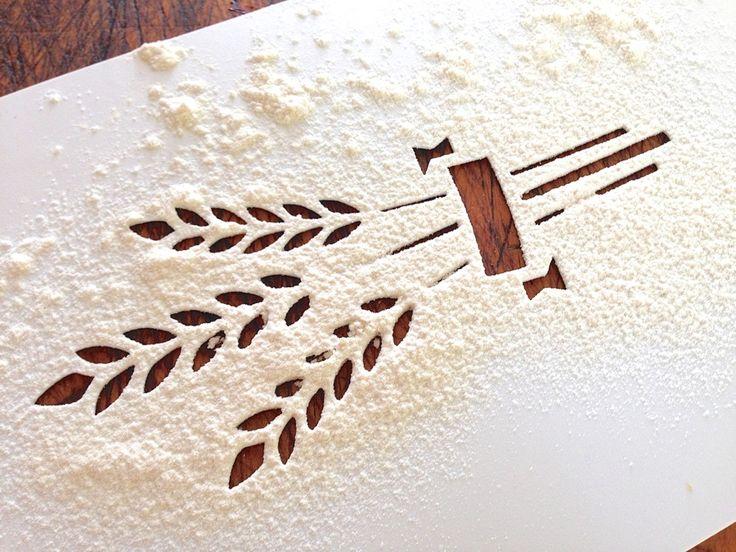 flour stencils - Google Search