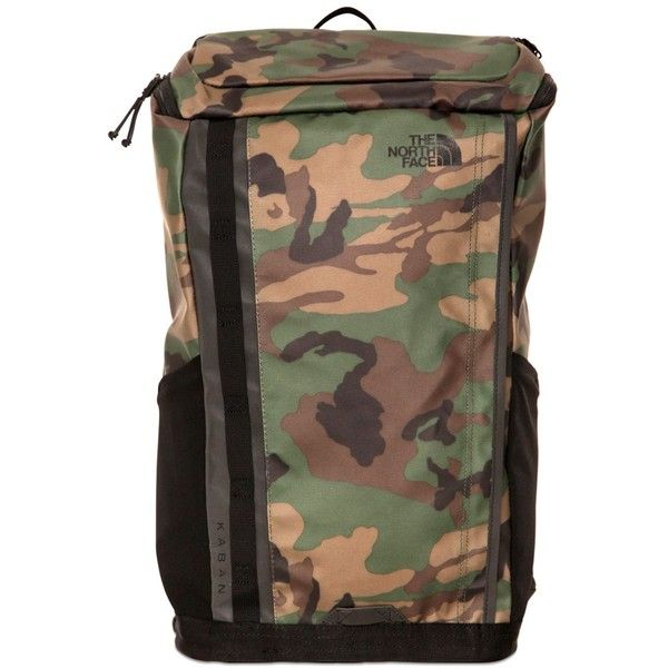 THE NORTH FACE Base Camp Kaban Backpack - Camouflage ($115) ❤ liked on Polyvore featuring bags, backpacks, camouflage, top zip backpack, the north face bag, camo backpacks, camo bags and the north face backpack