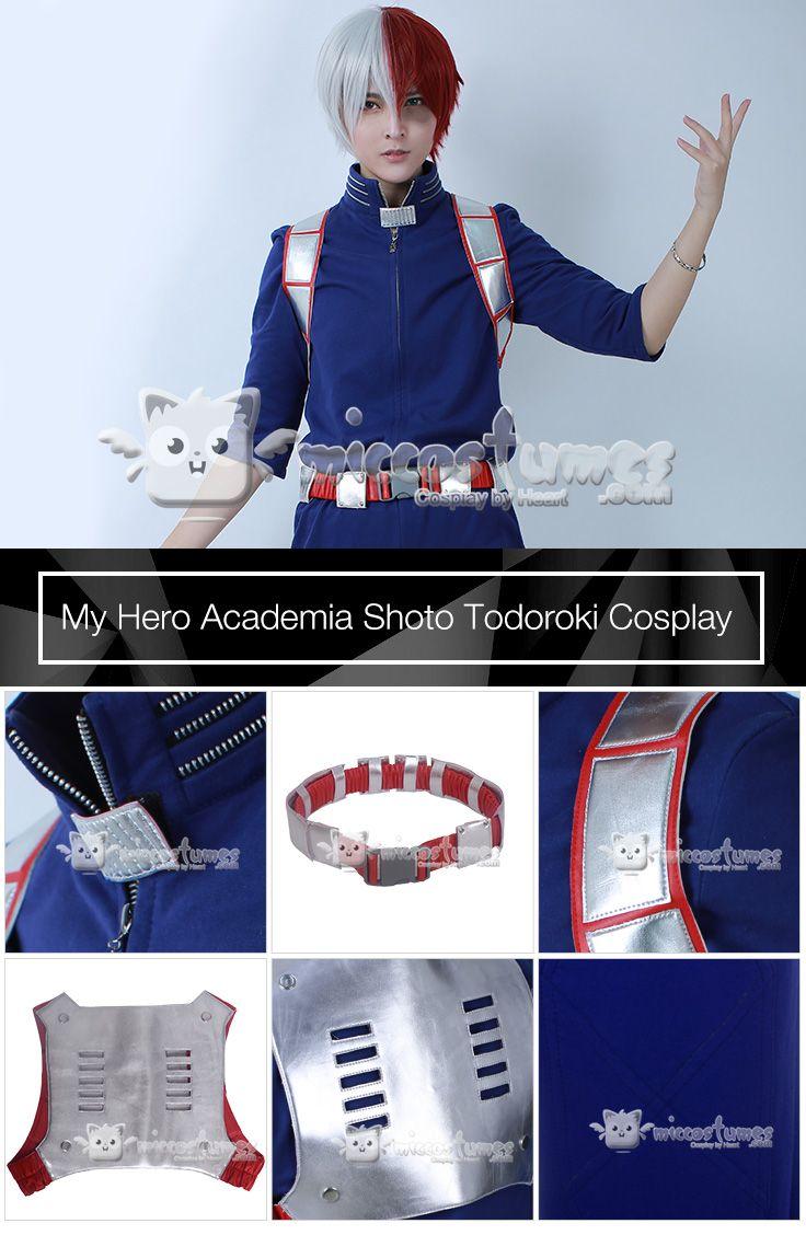 Boku No Hero Akademia Shouto Todoroki Shoto Cosplay My Hero Academia Costume