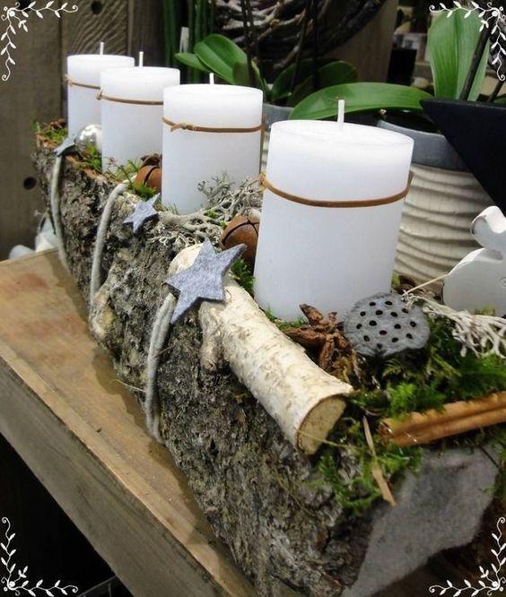 Stylowe propozycje na stroiki z drewnem, które Cię zaskoczą